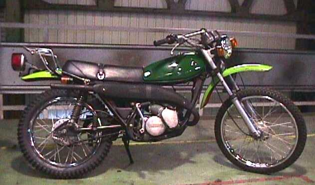 Kawasaki Ke 125 1981 Motorcycles Specifications