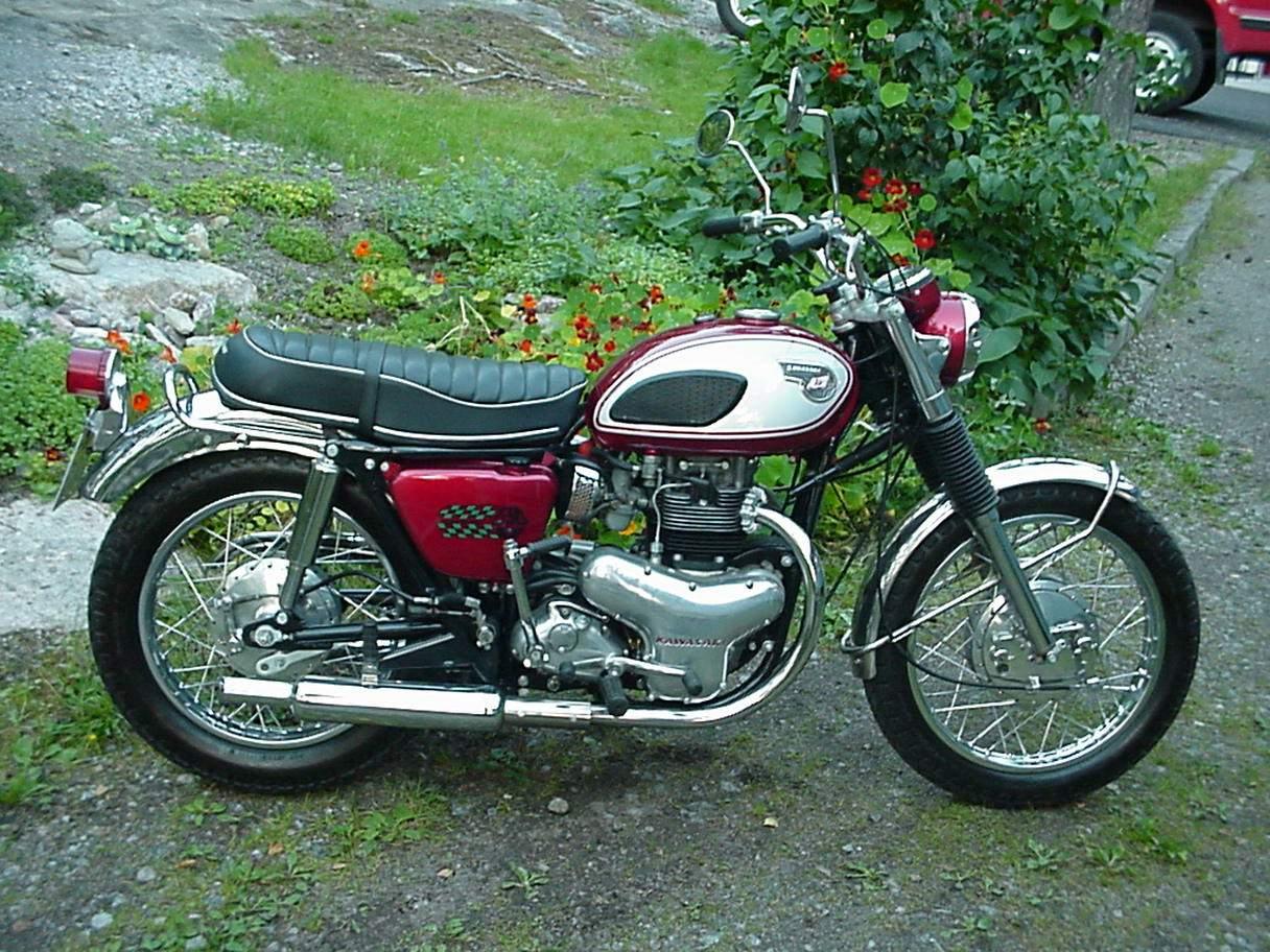 Kawasaki W 2 Ss 1970 Motorcycles Specifications