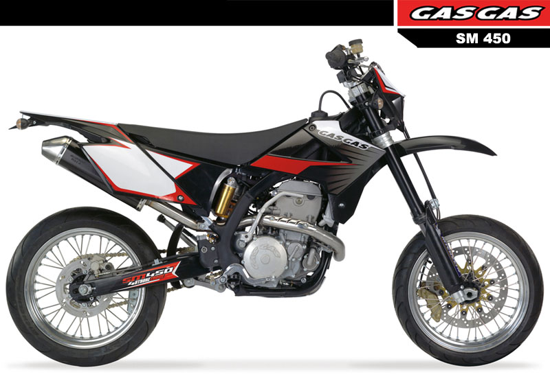 Gas Gas SM 450 FSR 2007 motorcycles specifications