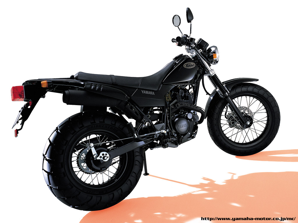 Yamaha tw 200 2005 motorcycles specifications for Yamaha clp 120 specification